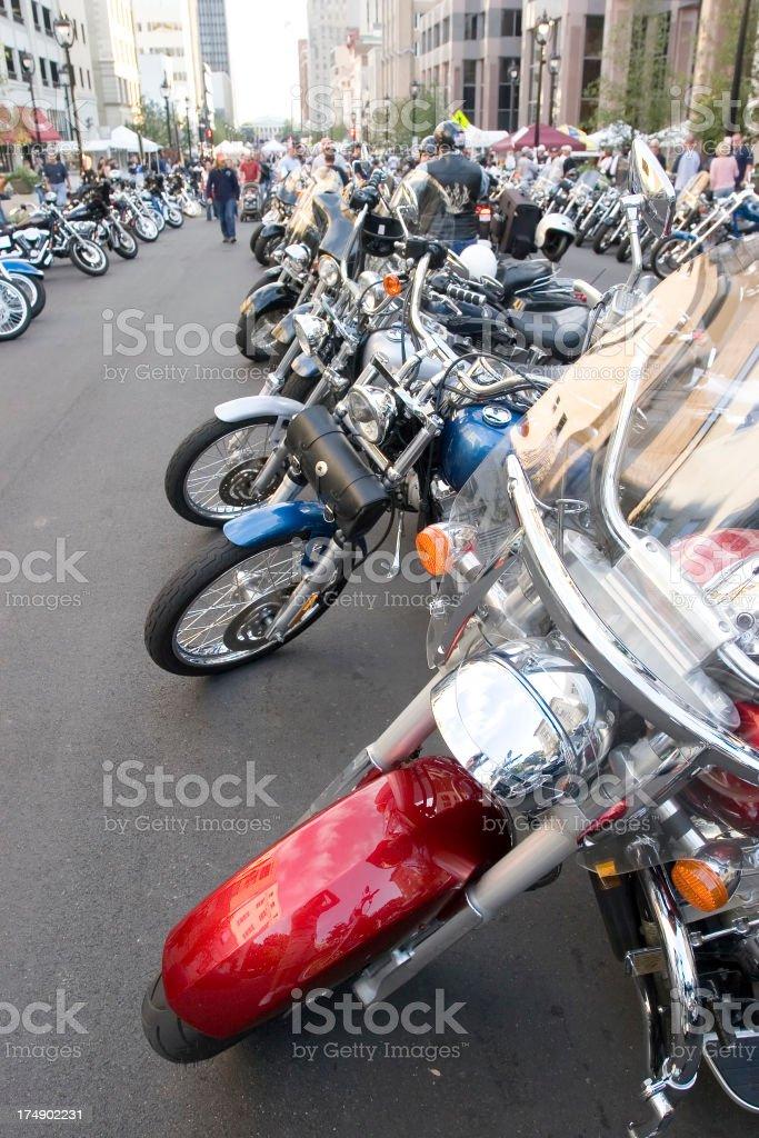 Bike Rally stock photo