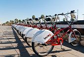 Bike rental in Barcelona - Spain.