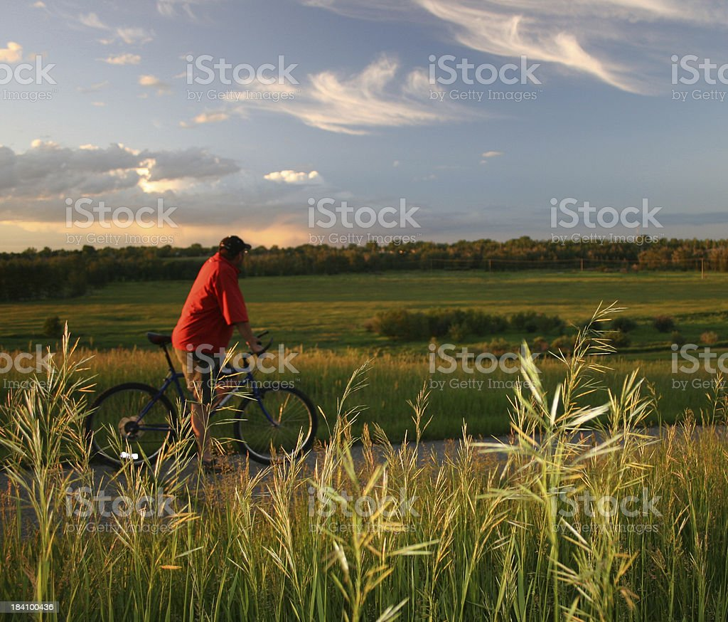 Bike Ride (Soft Focus) royalty-free stock photo