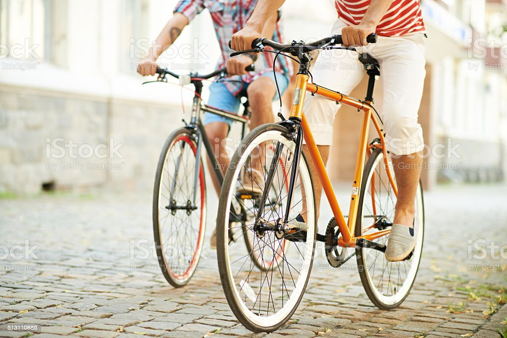 Bike ride stock photo