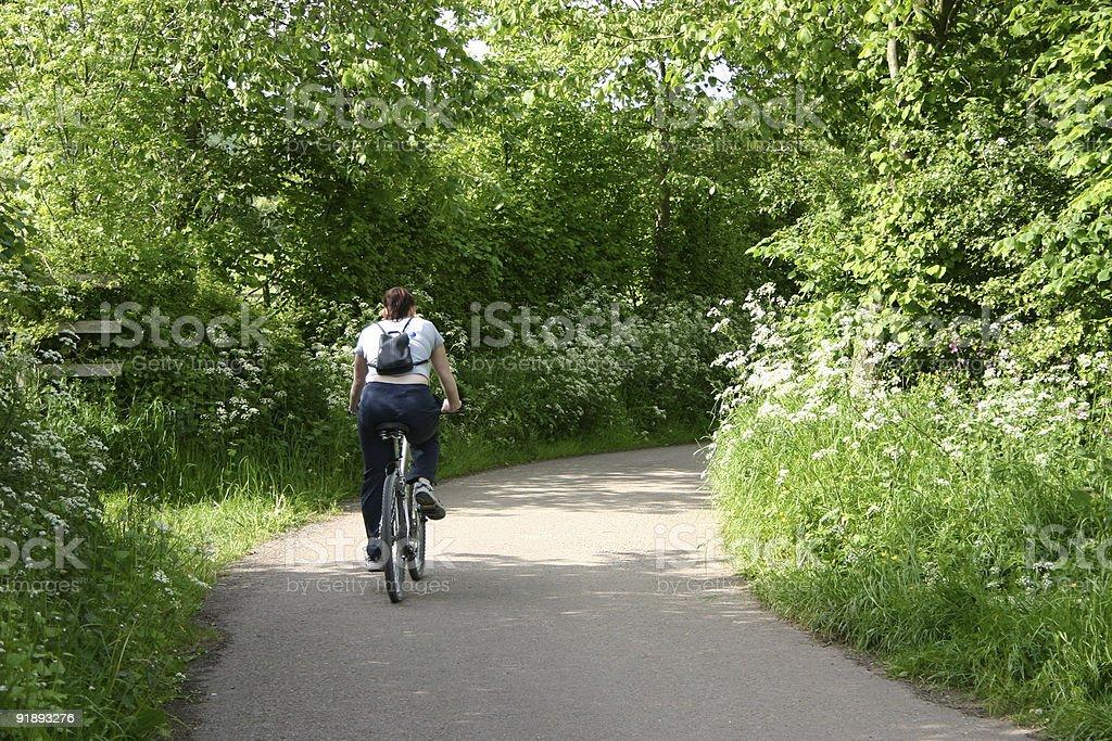 Bike Ride royalty-free stock photo