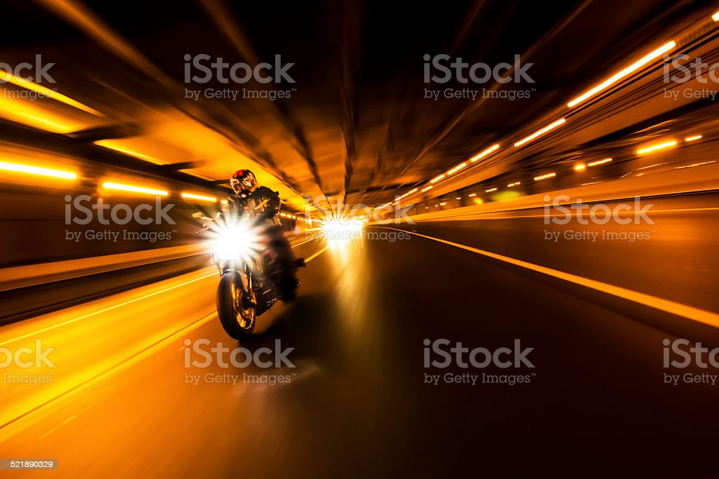 Bike rider stock photo