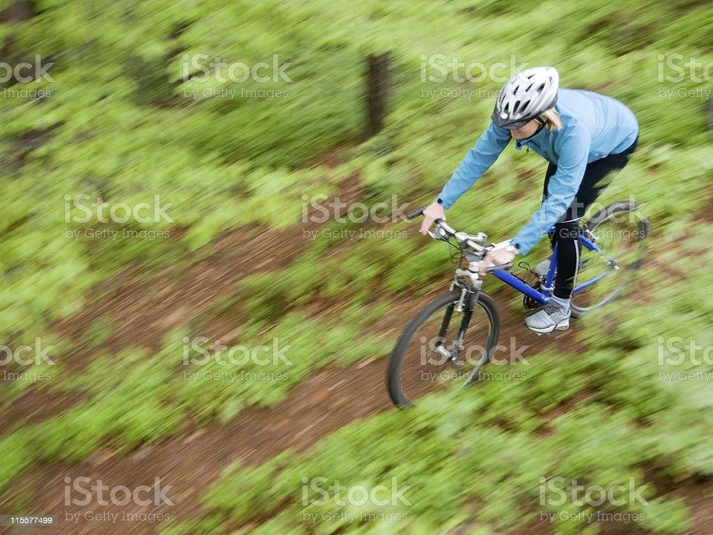 Bike riding royalty-free stock photo