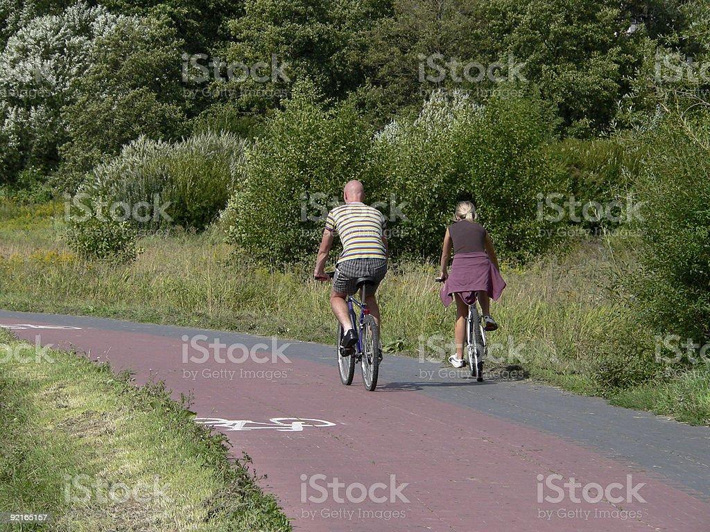 Bike road 2 royalty-free stock photo