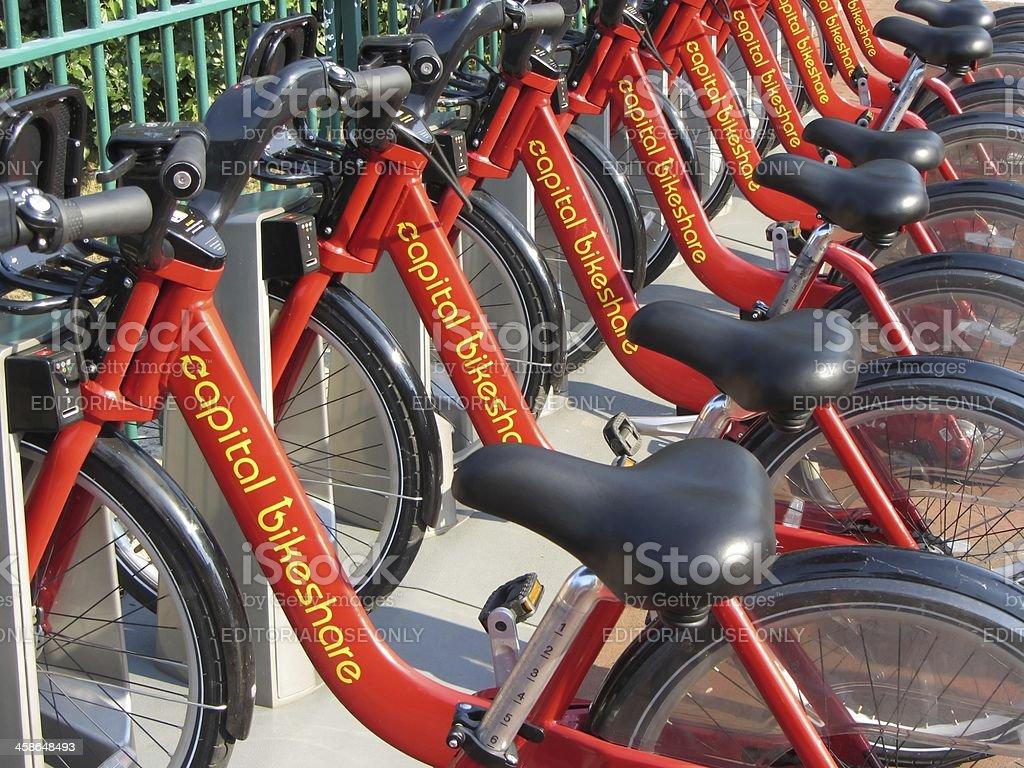 Bike Sharing Service stock photo