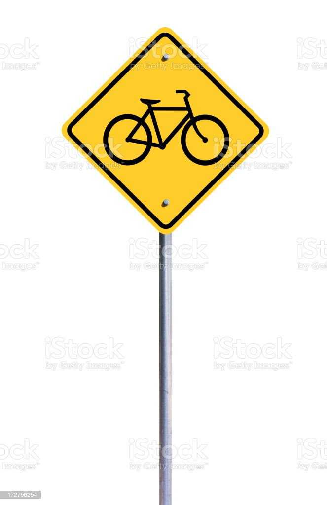 Bike Sign stock photo
