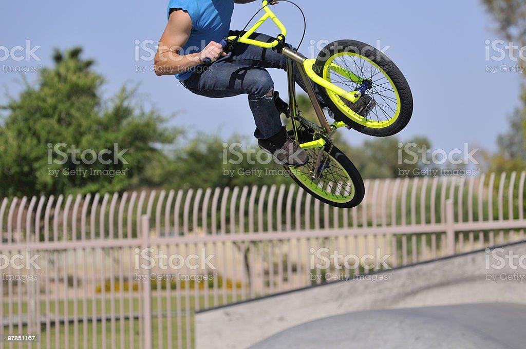 Bike Stunt royalty-free stock photo