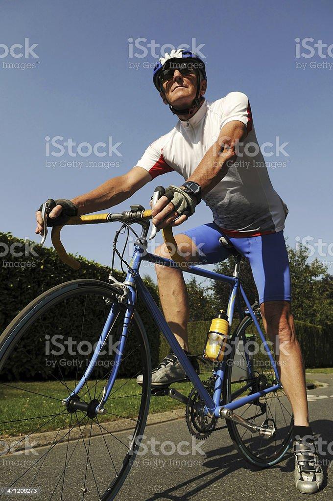Bike Touring royalty-free stock photo