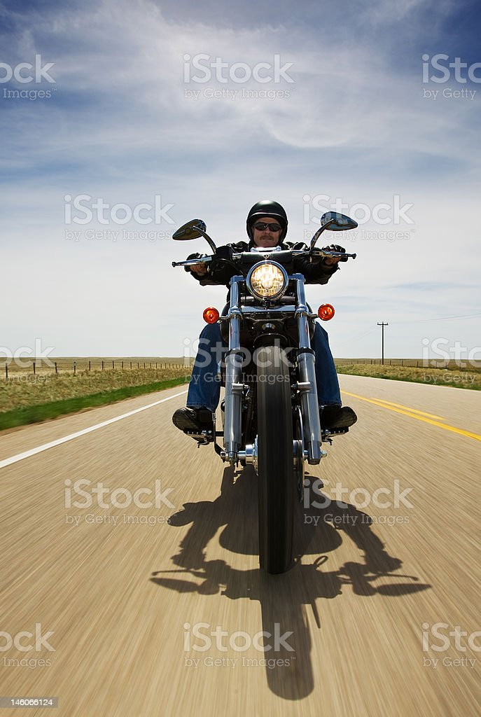 Bike travel stock photo
