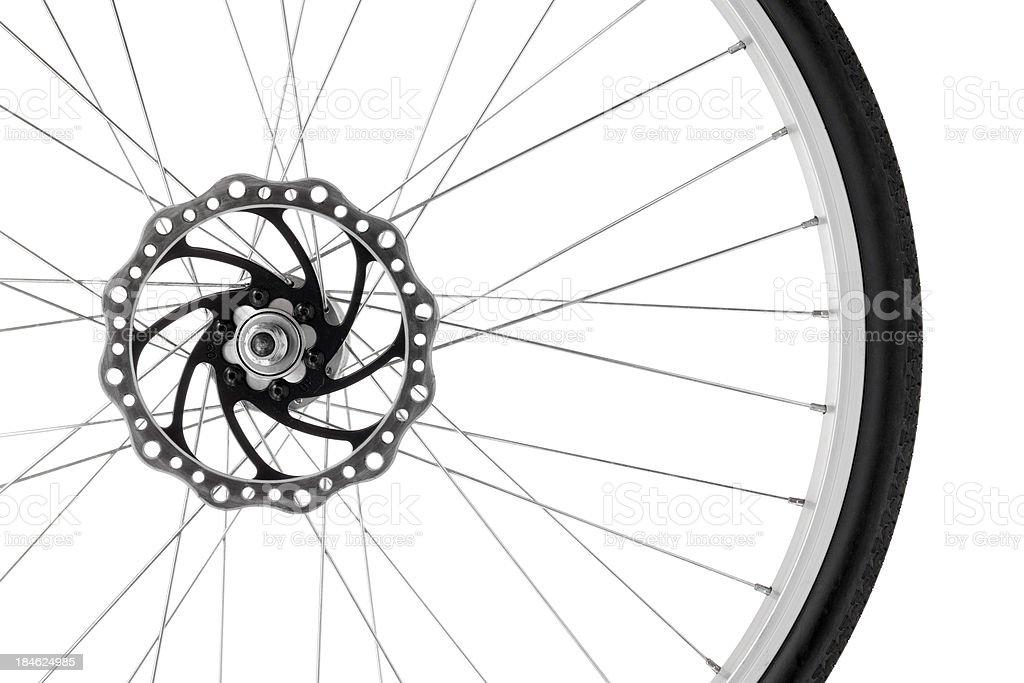 Bike wheel royalty-free stock photo