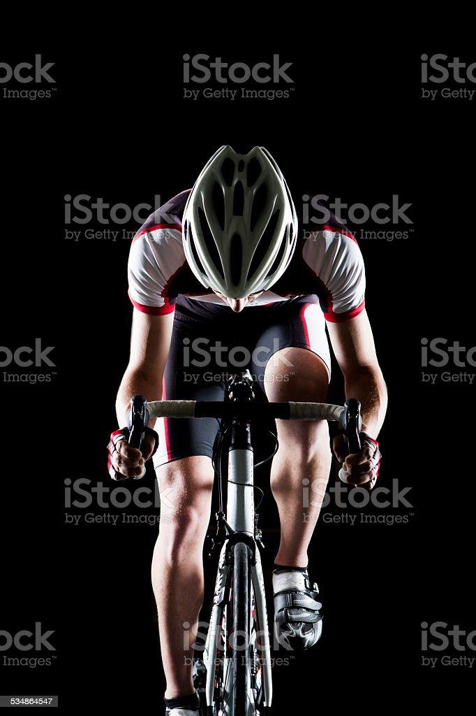 Biker II stock photo