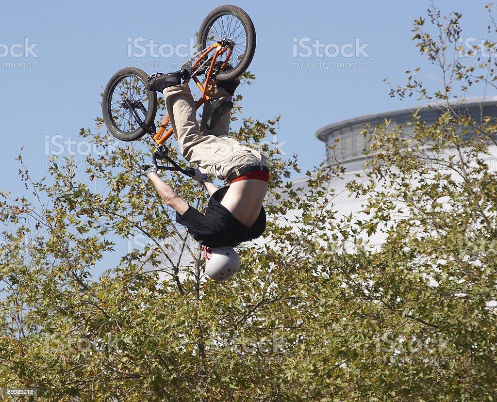 BMX Biker royalty-free stock photo
