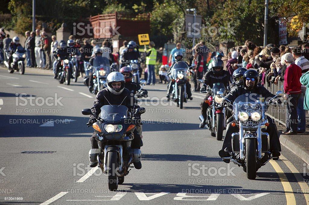 Biker Rally stock photo