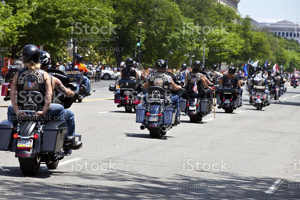 Bikers DC stock photo