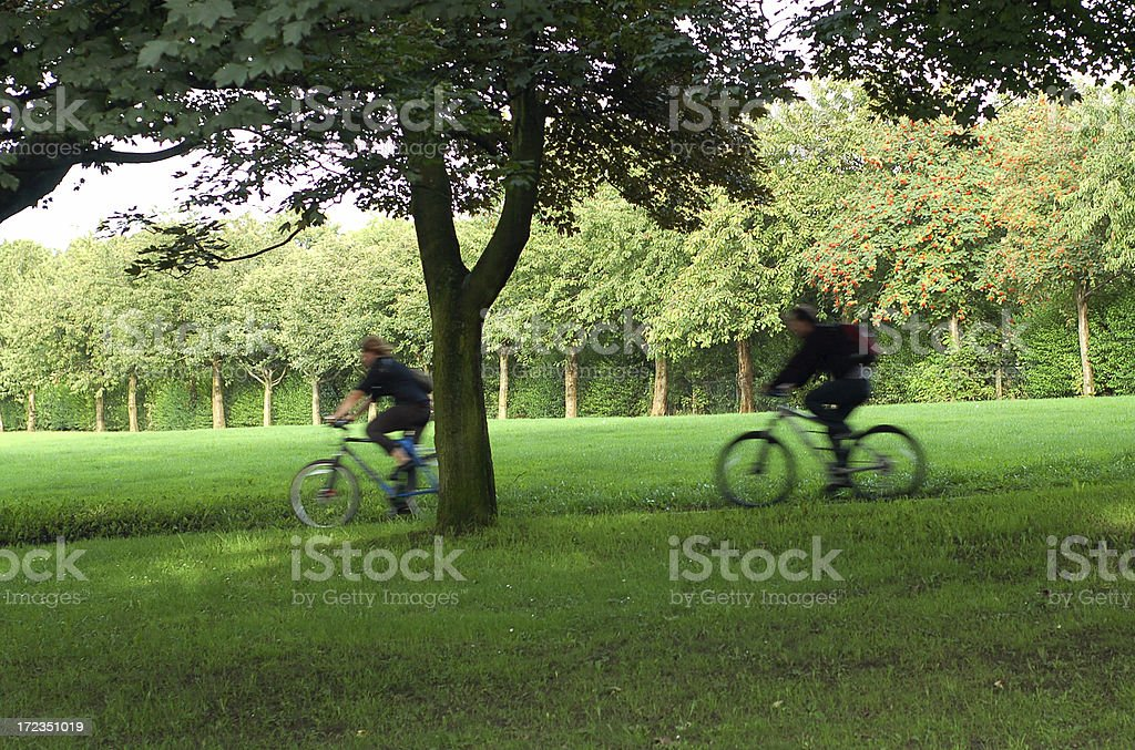 Bikers royalty-free stock photo