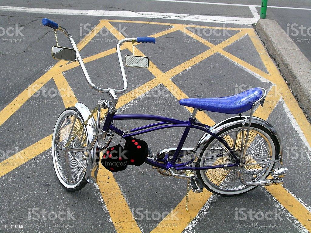 Bikes low-rider stock photo