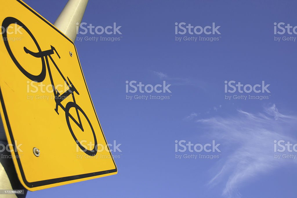 Bikes only! royalty-free stock photo