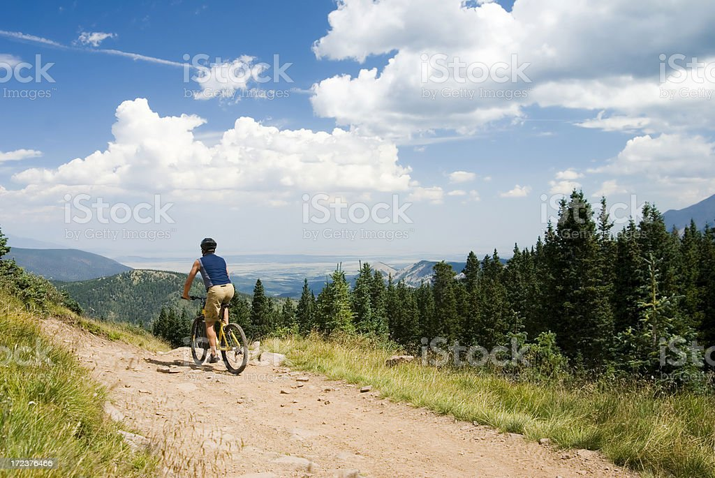 Radfahren in den Hügeln#3 Lizenzfreies stock-foto