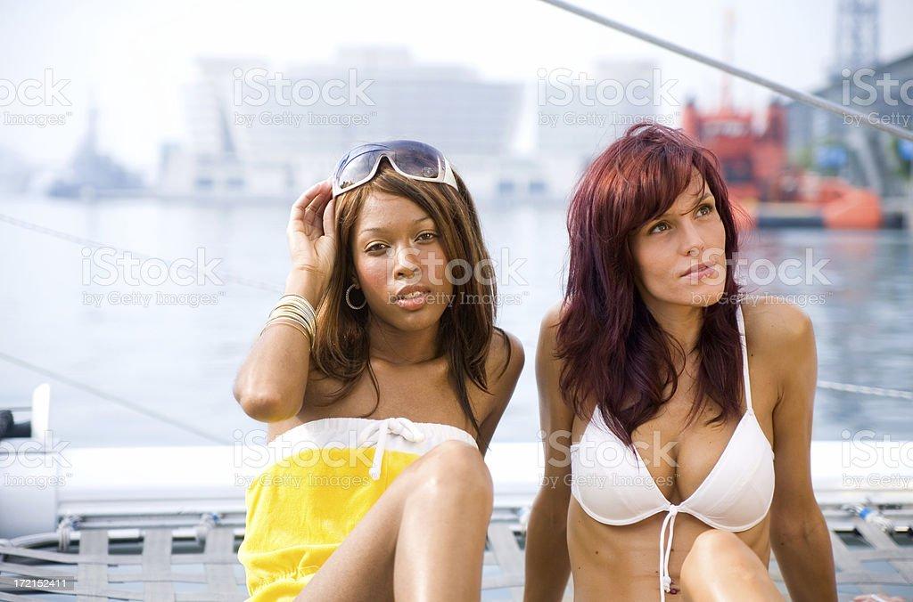Bikini Babes royalty-free stock photo
