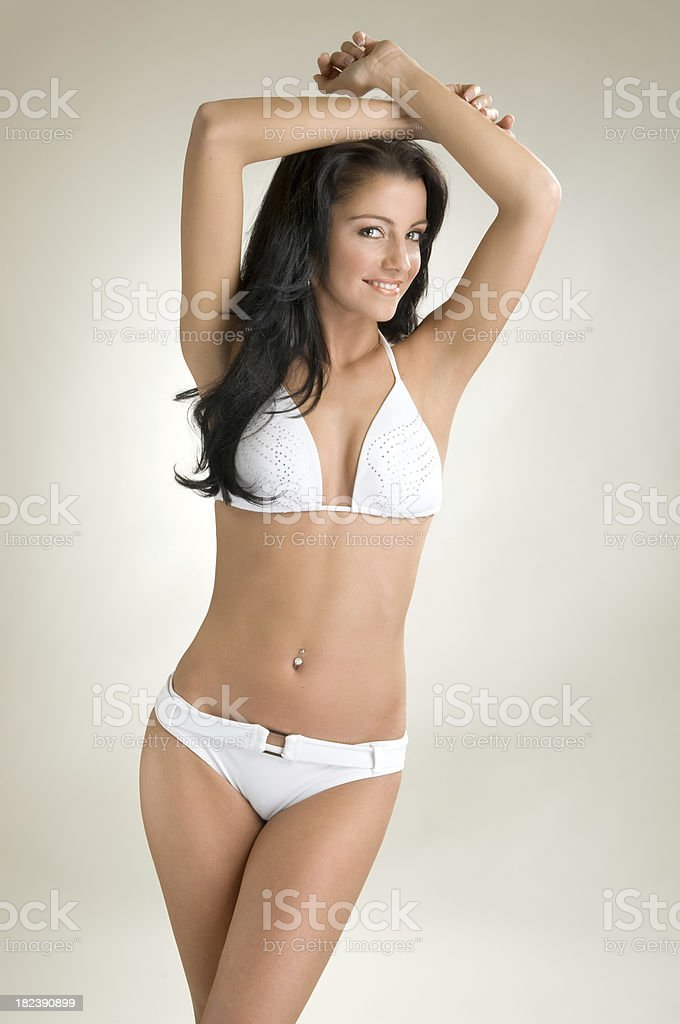 Bikini beauty royalty-free stock photo