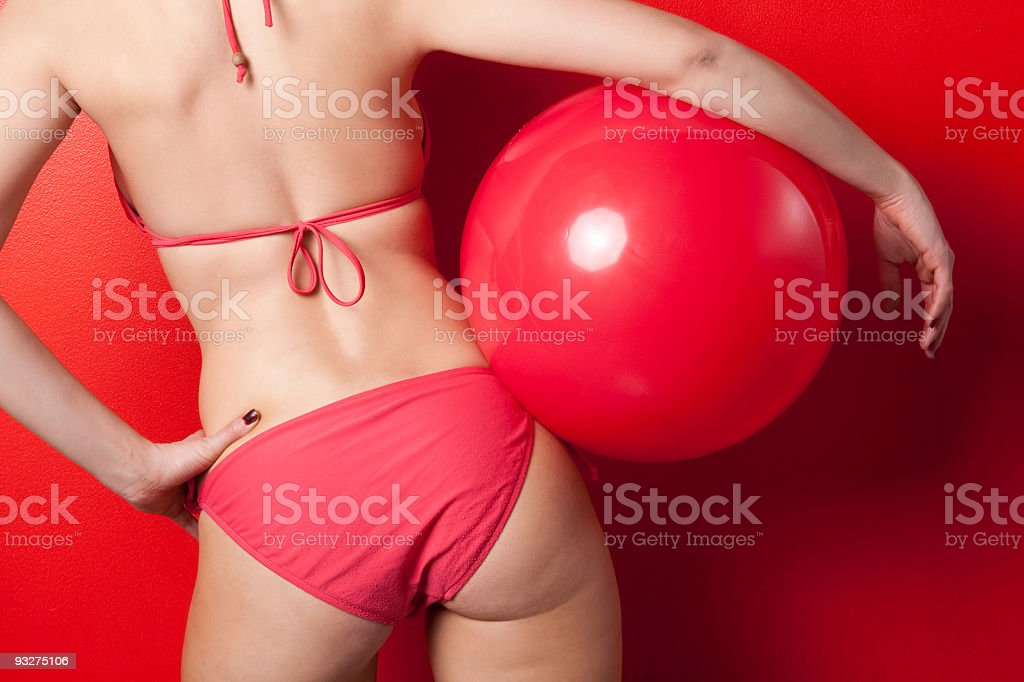 Bikini Girl royalty-free stock photo