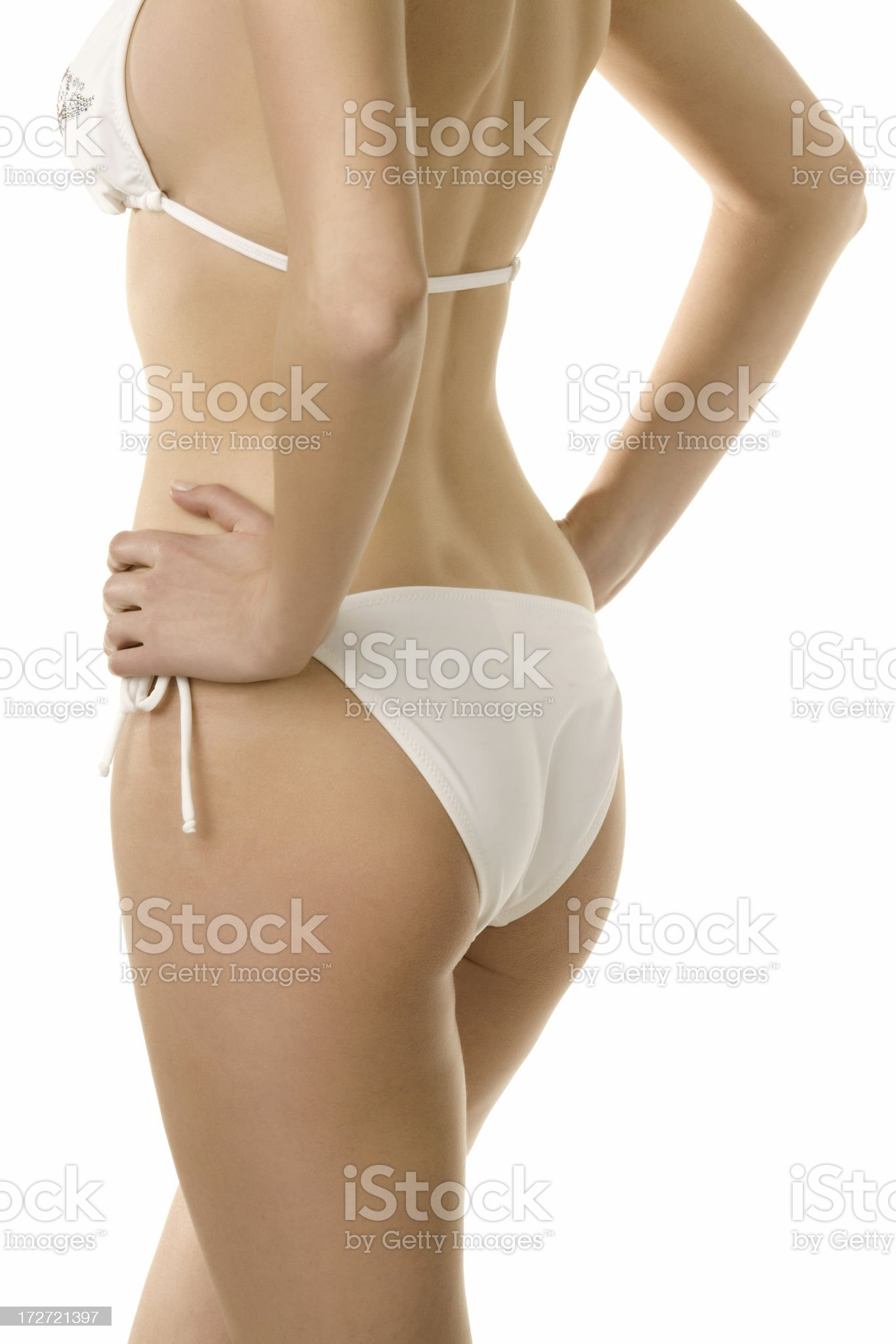 Bikini Woman royalty-free stock photo