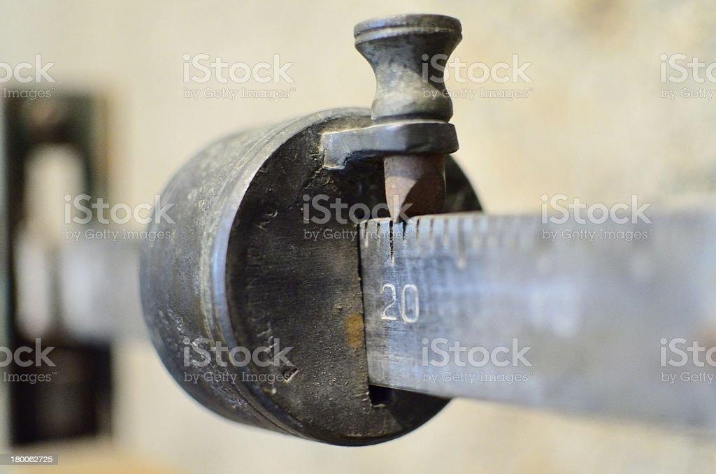 bilancia antica royalty-free stock photo