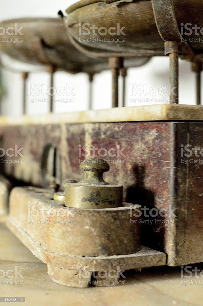 bilancia royalty-free stock photo
