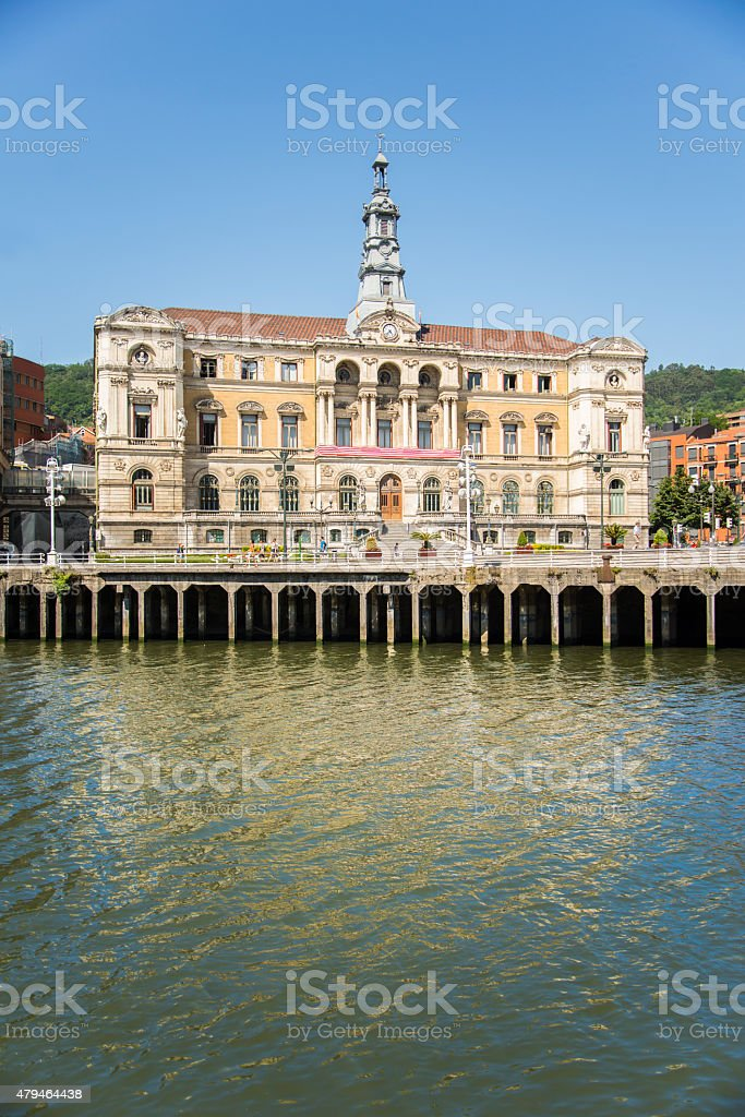 Bilbao, city hall stock photo