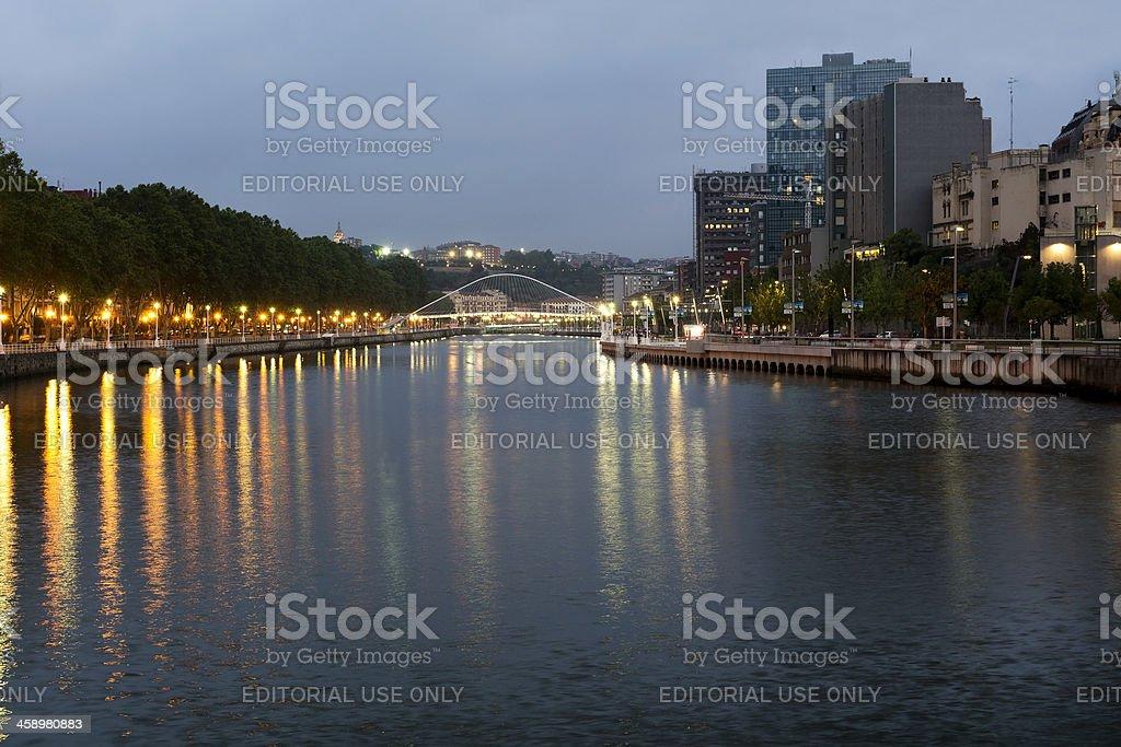 Bilbao cityscape stock photo