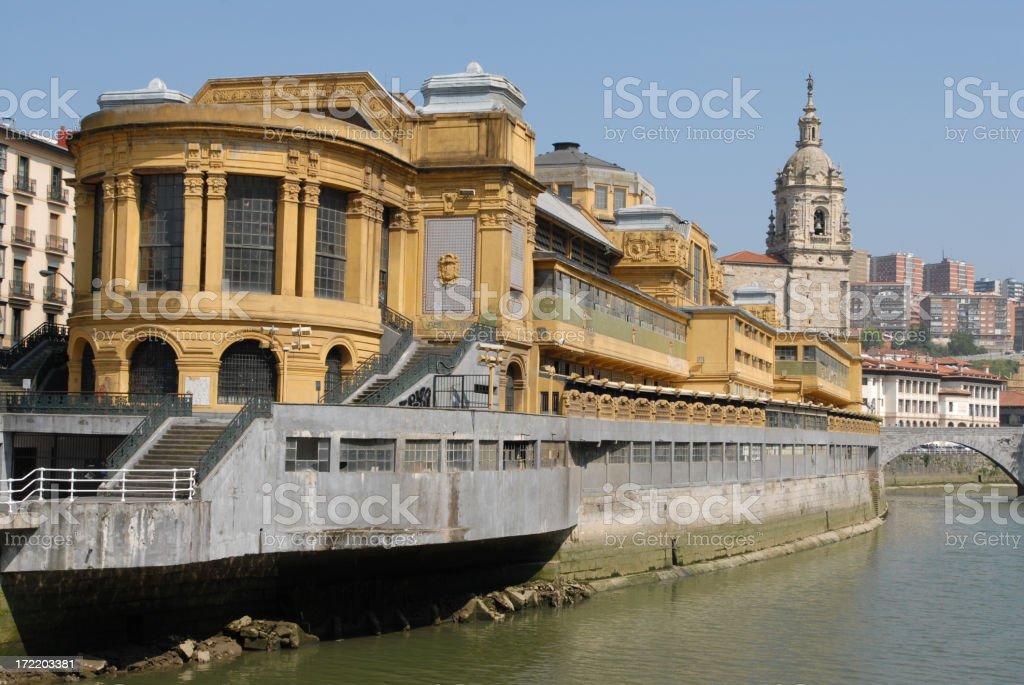 Bilbao Market stock photo