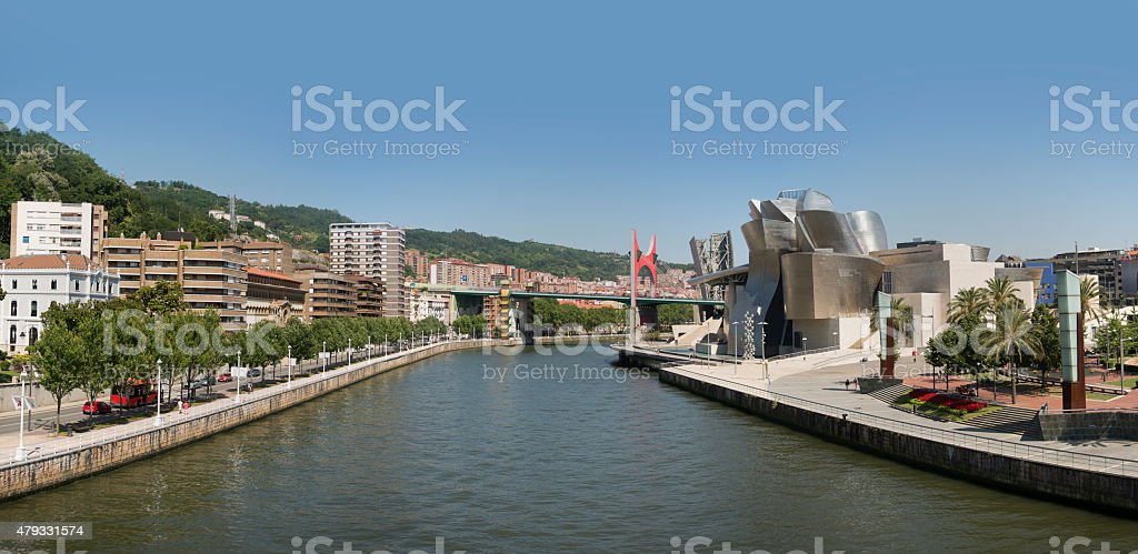 Bilbao, Spain stock photo