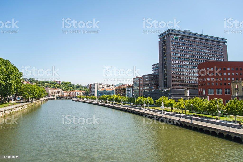 Bilbao, Spain. stock photo
