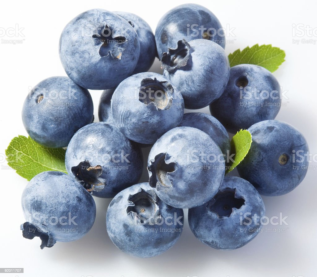 bilberries royalty-free stock photo