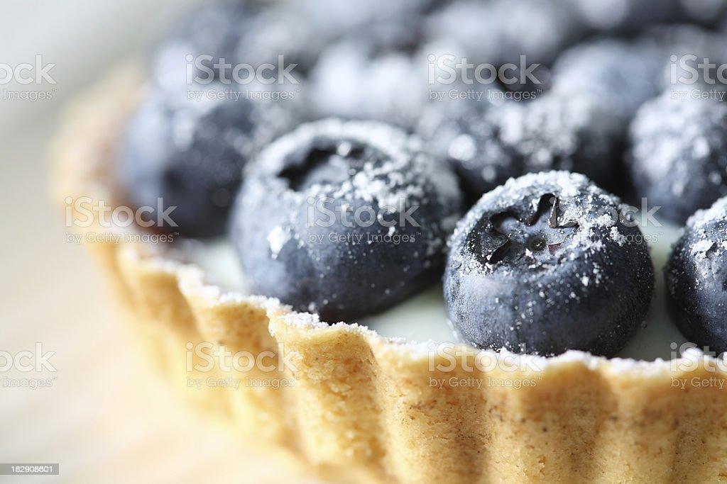 Bilberry tart royalty-free stock photo