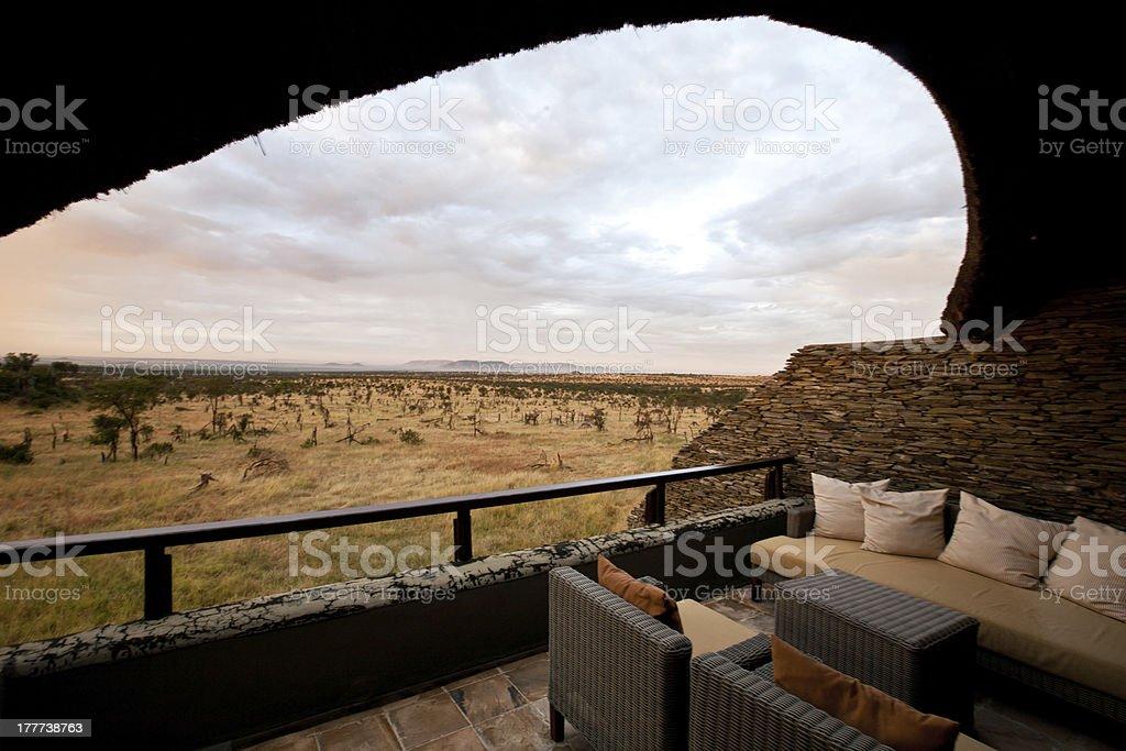 Bilia Balcony stock photo