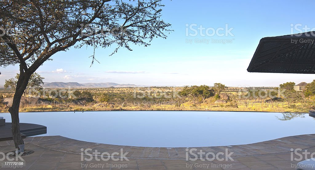 Bilia Porch View stock photo