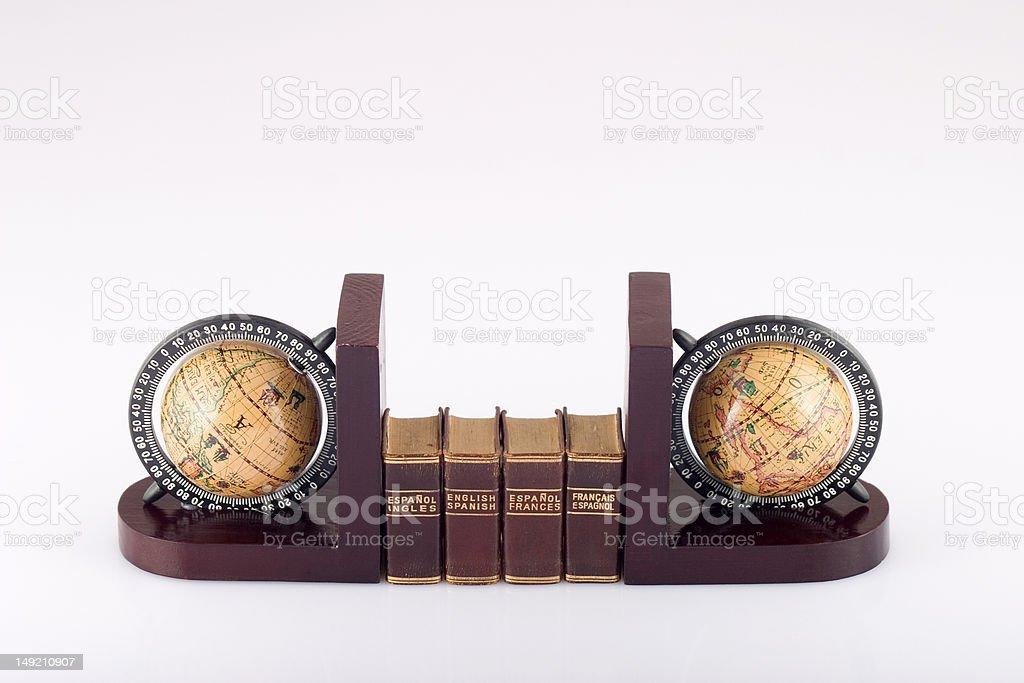 Bilingual Dictionaries royalty-free stock photo