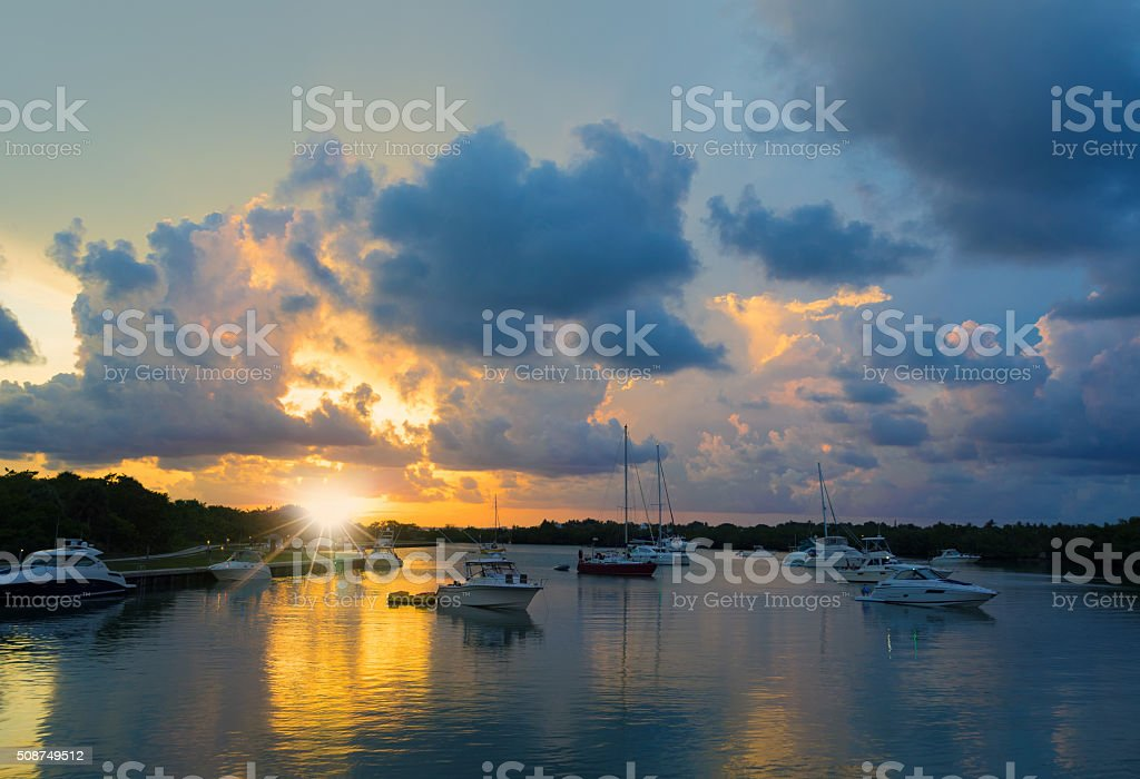 Bill Baggs Cape Florida State Park stock photo