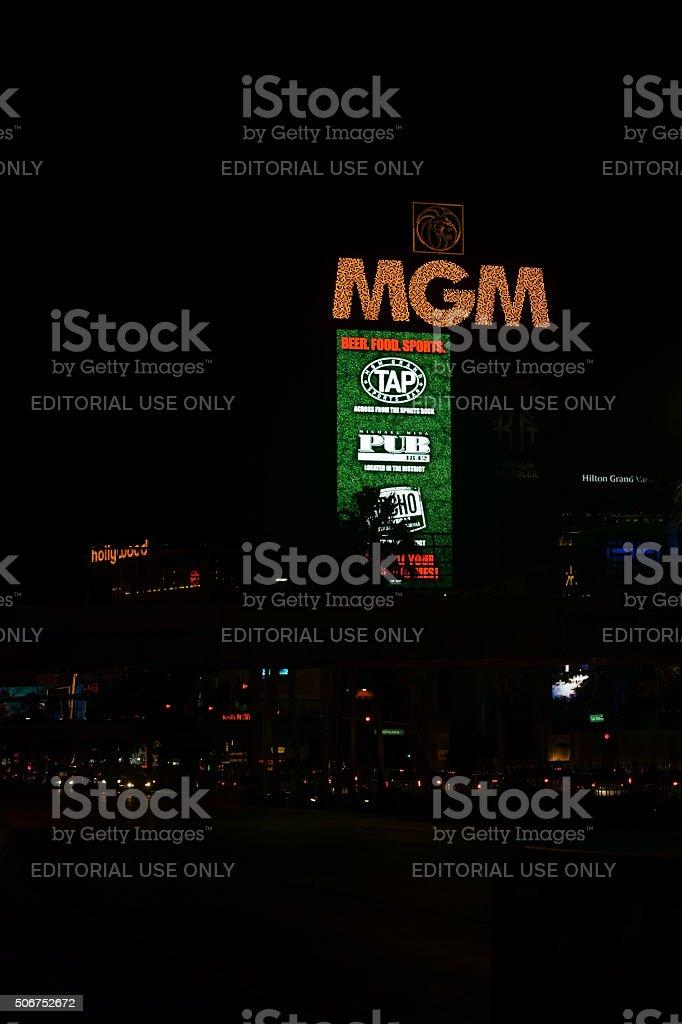 Billboard MGM stock photo