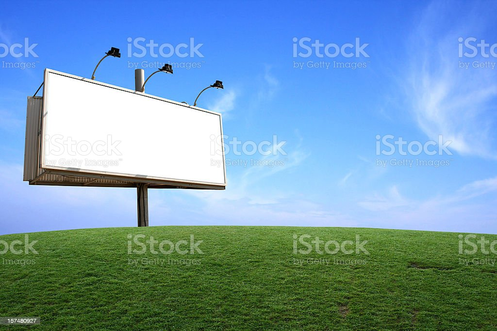 Billboard royalty-free stock photo