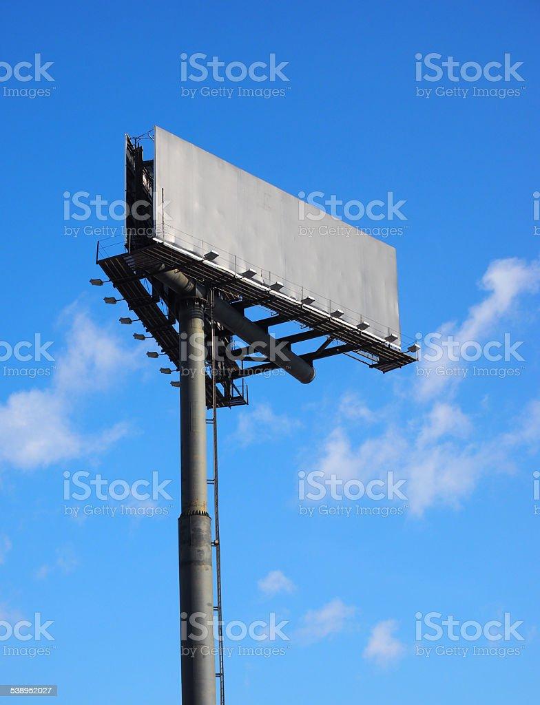 Panneau d'affichage photo libre de droits