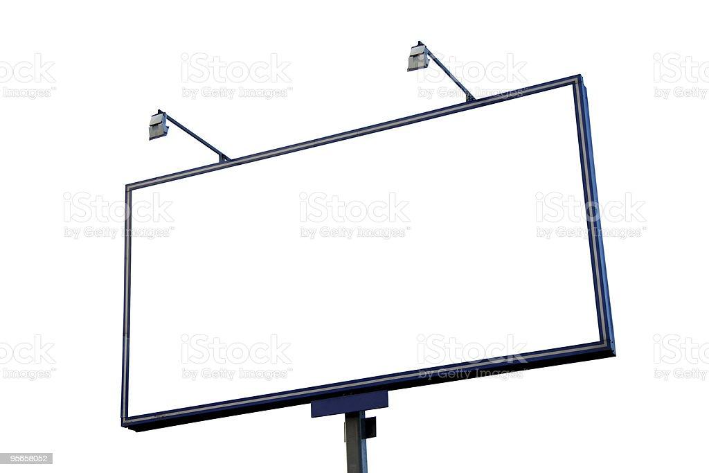 billboard royalty-free stock photo