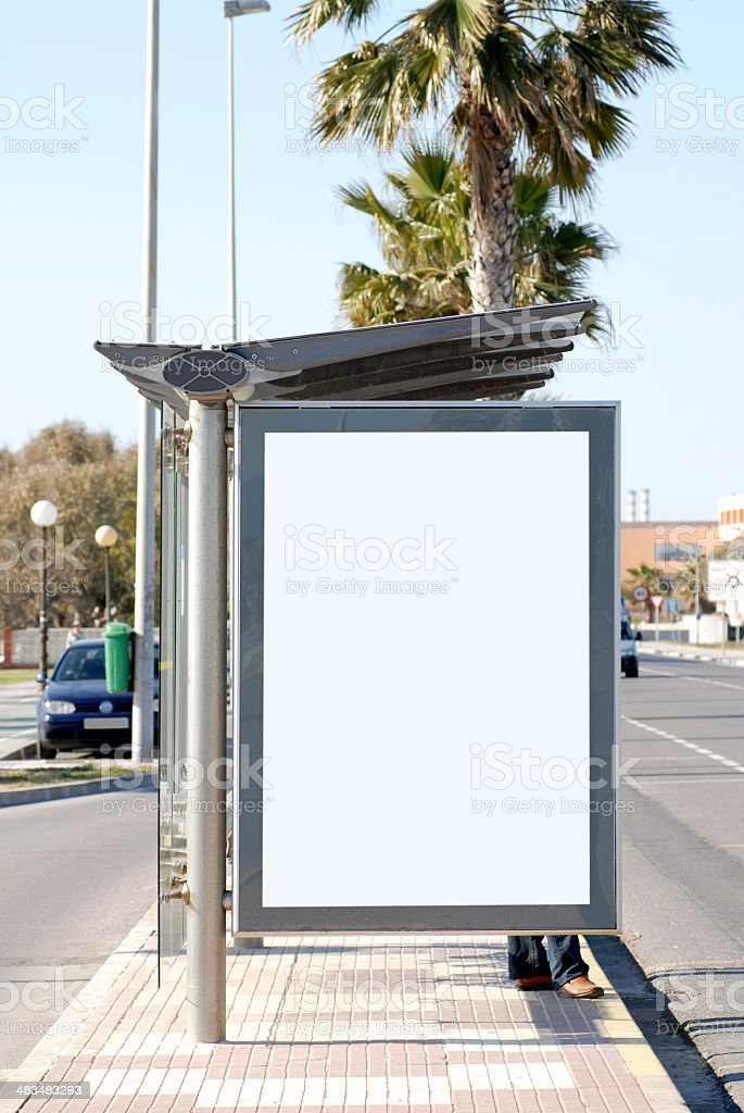 Billboard series. royalty-free stock photo