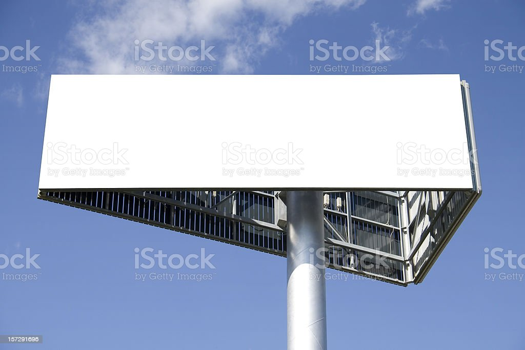 Billboard tower royalty-free stock photo