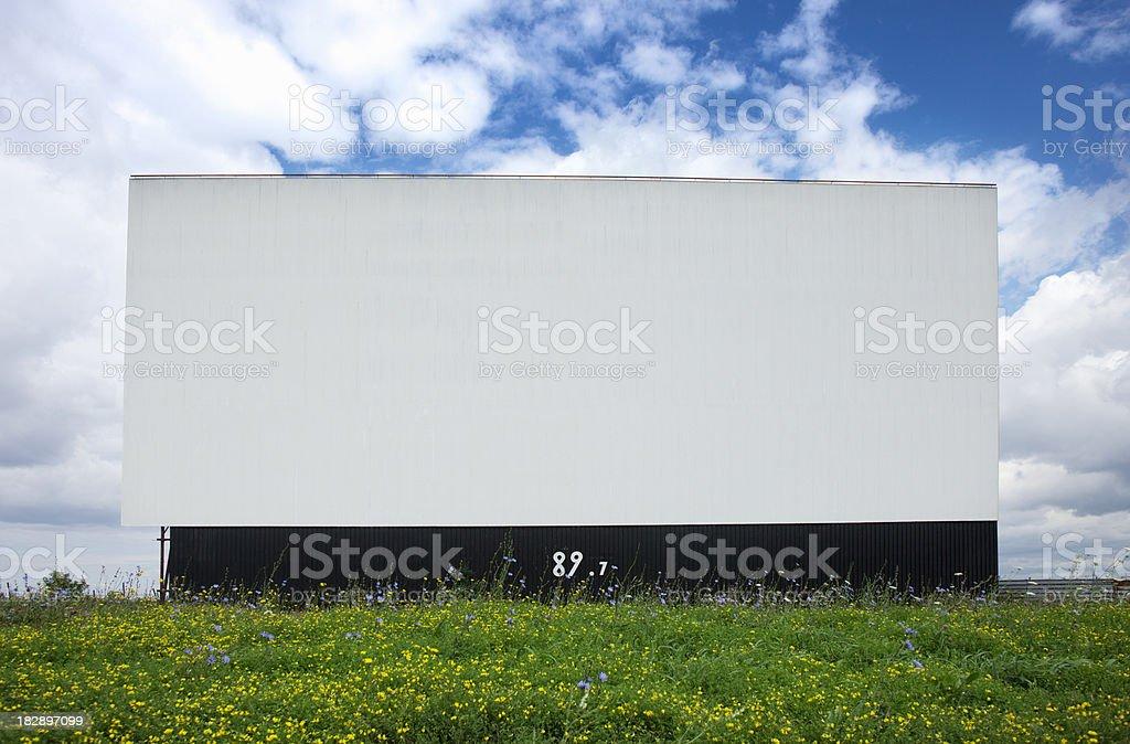 Billboard, your Ad here. stock photo
