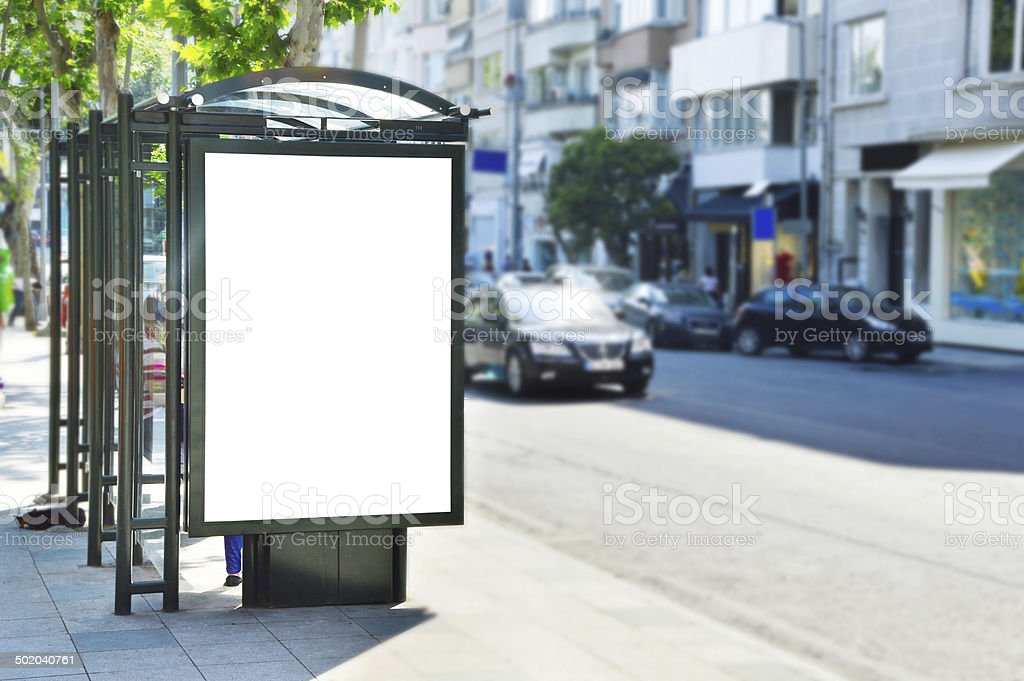 Billboard+Clipping Path (Click for more) stock photo