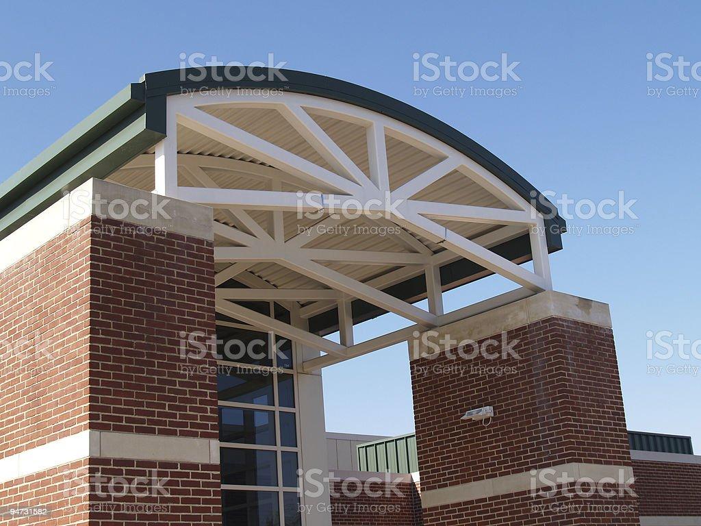Billera Hall, DeSales University stock photo