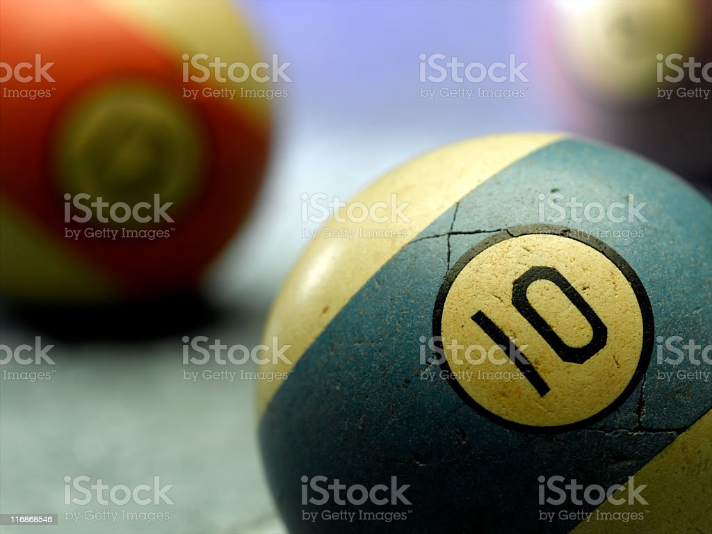 Billiard Ball stock photo