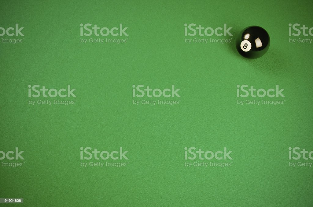 Billiard green background royalty-free stock photo